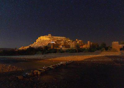 Ait Ben Haddou by night