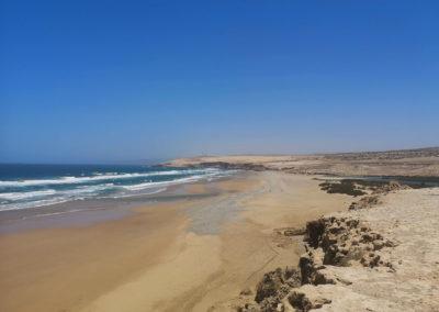 Ocean beach Morocco