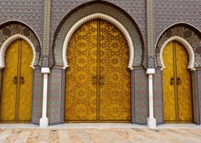 king's door in Fes